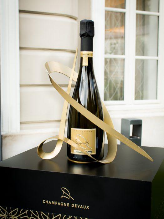Bouteille de Champagne Devaux