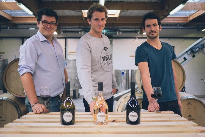 La Winerie Parisienne est fondée par 3 jeunes hommes passionnés par le vin