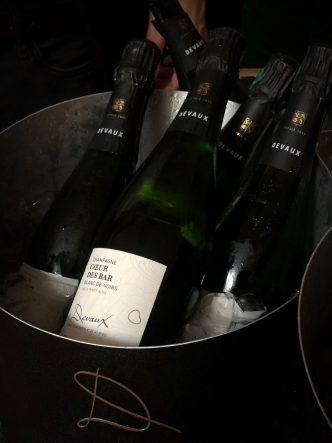 Coeur des Bar par la maison de champagne Devaux - Bar En Seine