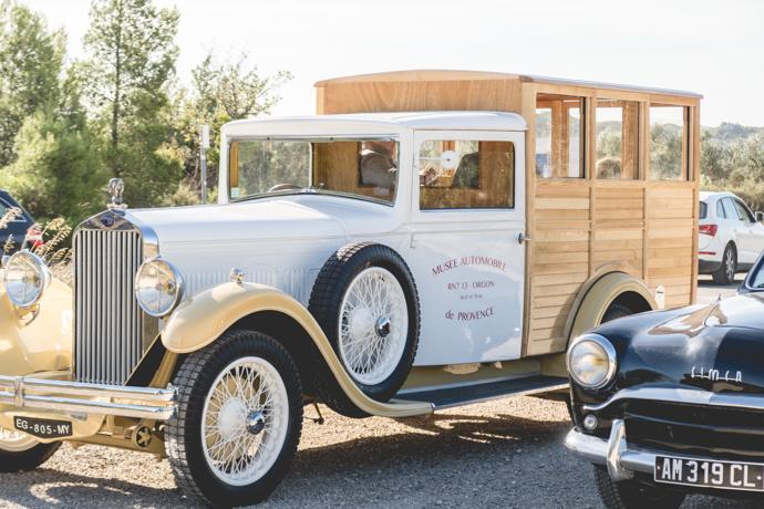 Voiture de collection Delage - Musée Automobile des Baux de Provence