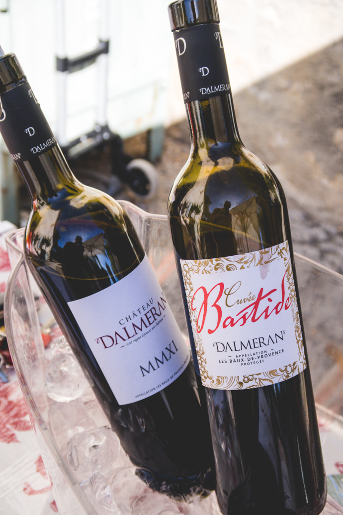 Vin rouge du Domaine Dalmeran - Cuvée Bastide et MMXI