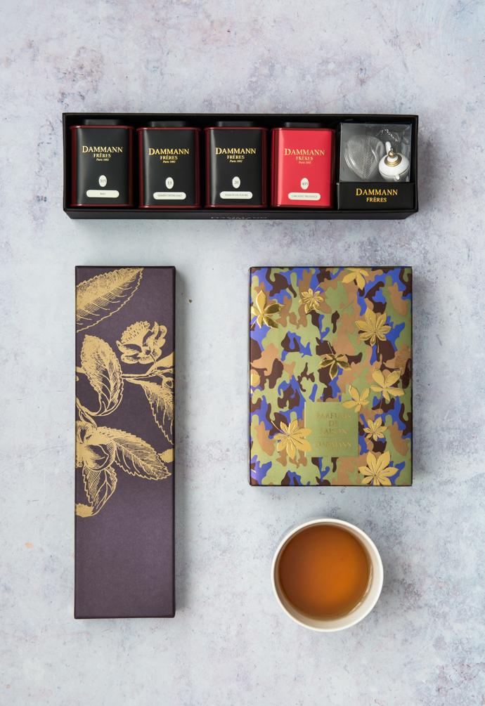 Parfums de saison - le coffret de thé Dammann Frères qui sent bon l'Automne