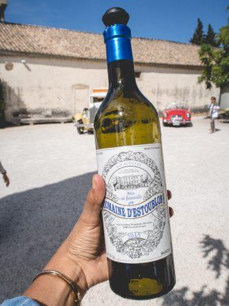 Chateau d'Estoublon - vin blanc biologique de la Vallée des Baux de Provence