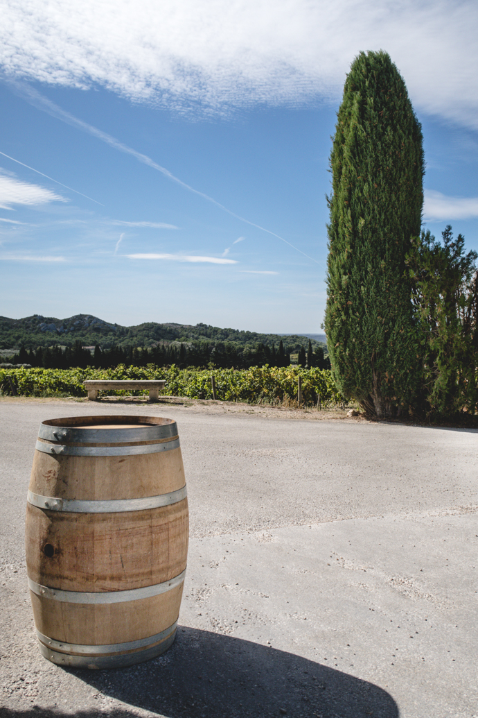 Tonneau au Mas de la Dame, Baux de Provence