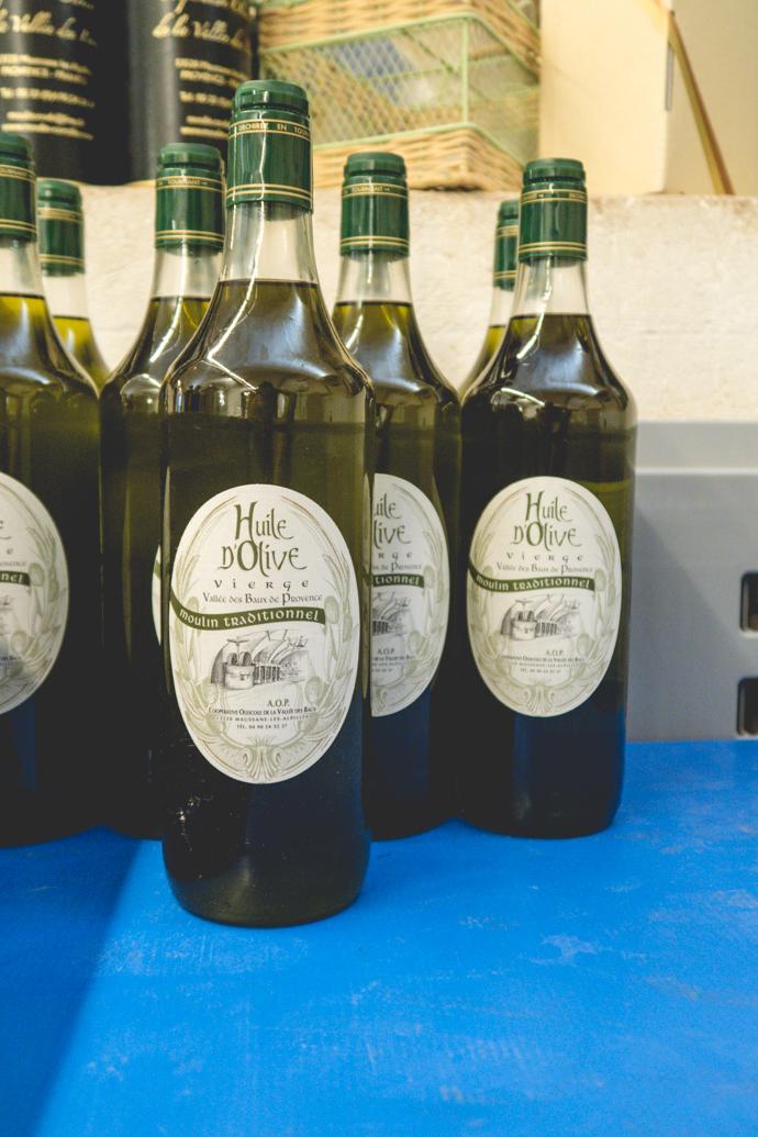 Huile d'olive du Moulin Cornille, le plus ancien moulin à huile de France