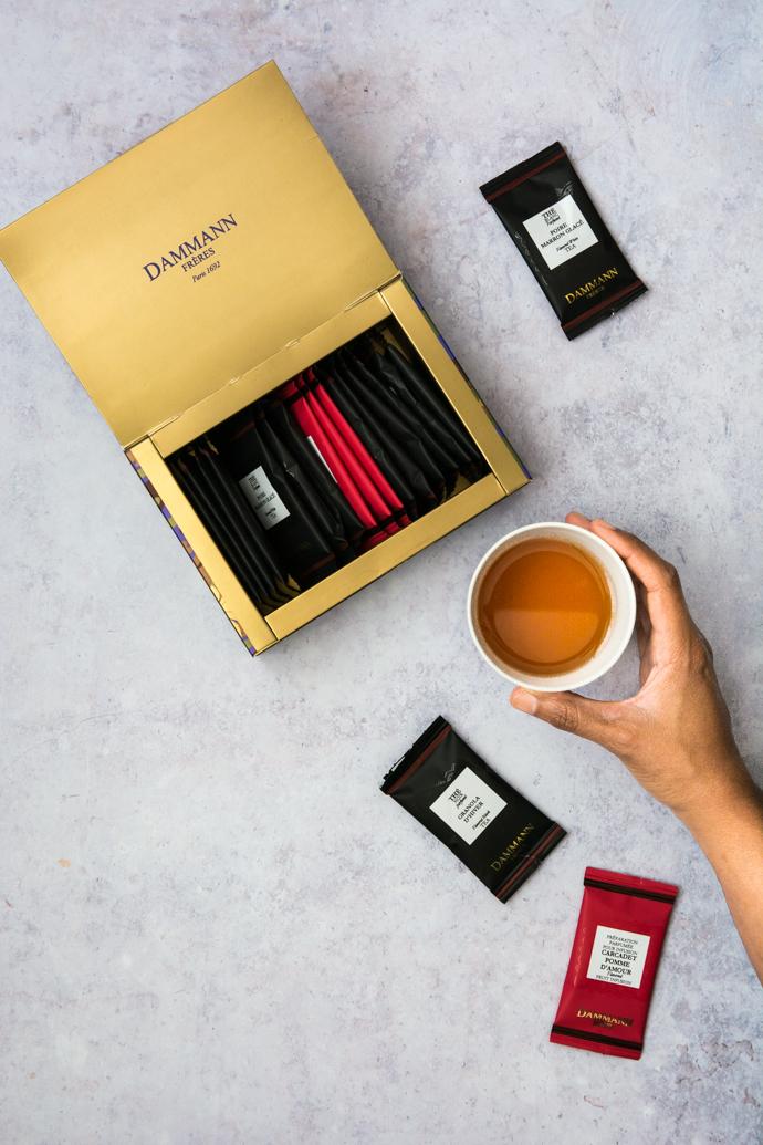 Dammann Frères – thés et infusions au coin du feu