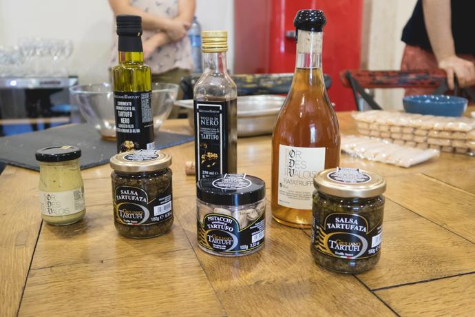 Gamme de produits truffés de l'Or des Valois