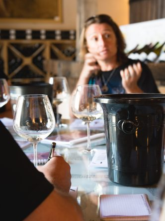 Domaine de Chanzy - dégustations de vin blanc