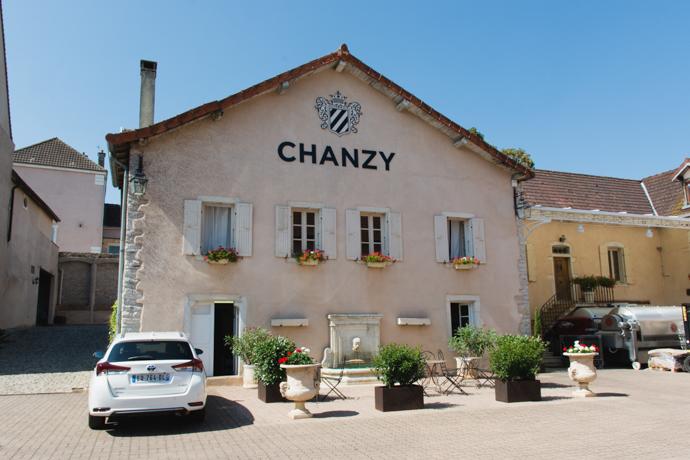 Domaine de Chanzy - siège social