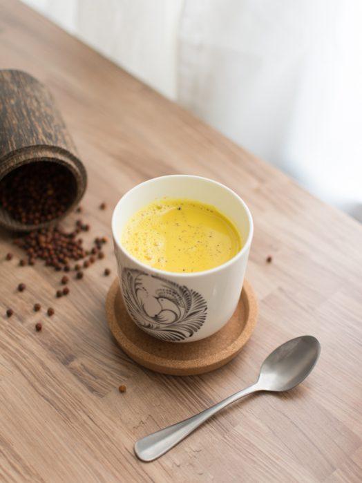 Recette du lait d'or sans lactose