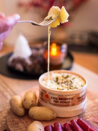 Recette du Mont d'Or aux noix - recette fromagère