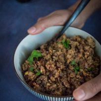 Recette de curry de lentilles corail et noires
