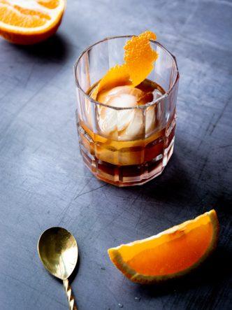 Cocktail facile à base de Fleur de Bière Fût de Chêne et Absinthe