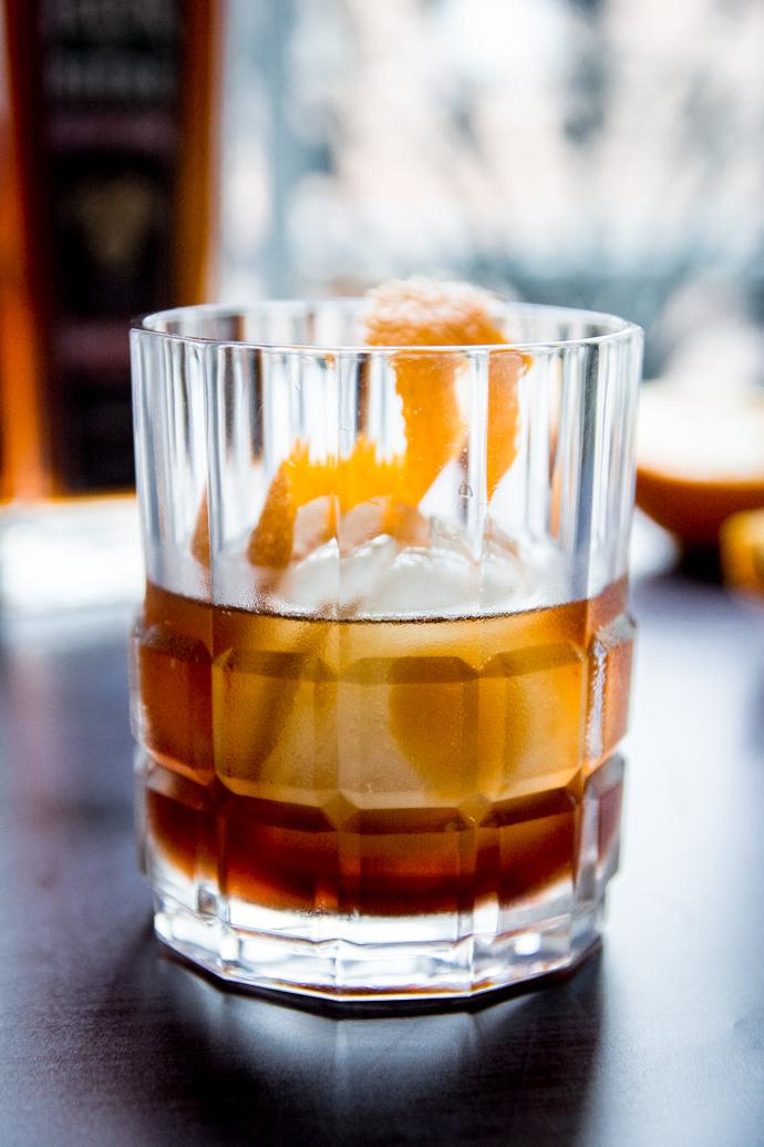 Remplacer le whisky dans le cocktail Sazerac, par de la Fleur de Bière vieillit en Fût de Chêne