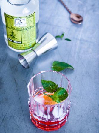 Cocktail Negroni à base de gin de France par la Distillerie de Gayant
