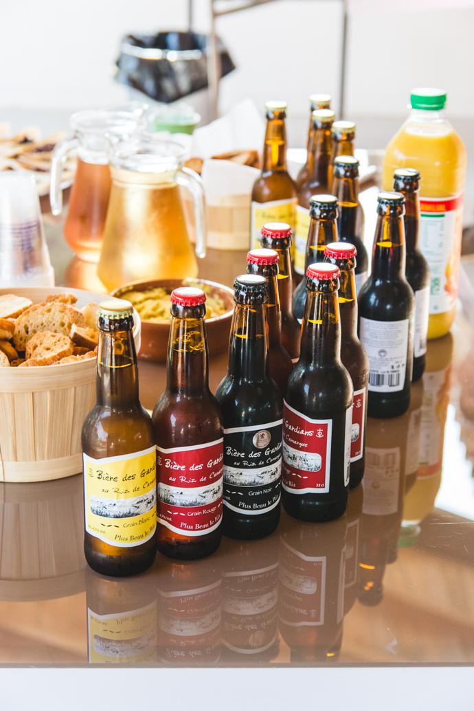 Bière de Riz : brune, rousse, blonde.
