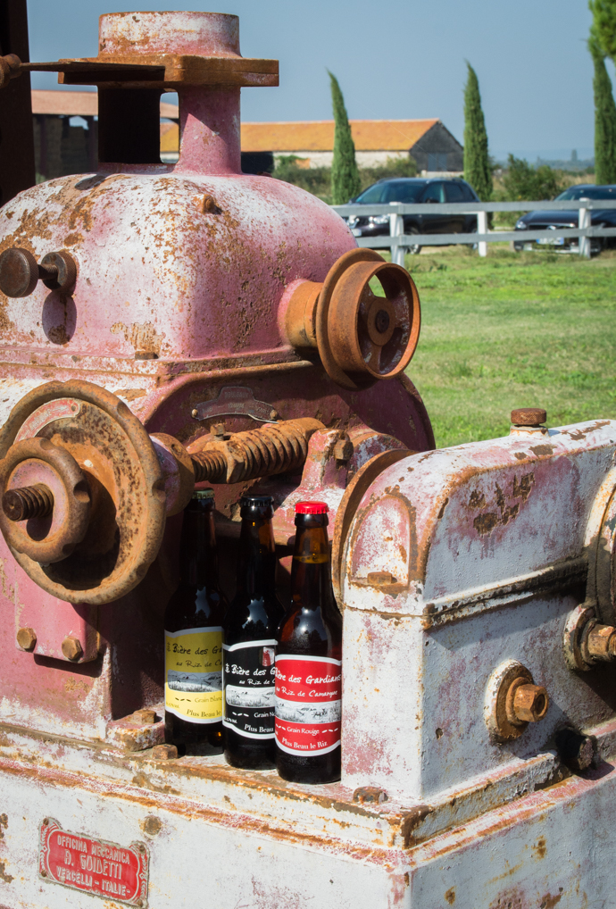 Trinquez à la bière de Riz de Camargue lors des Prémices du Riz