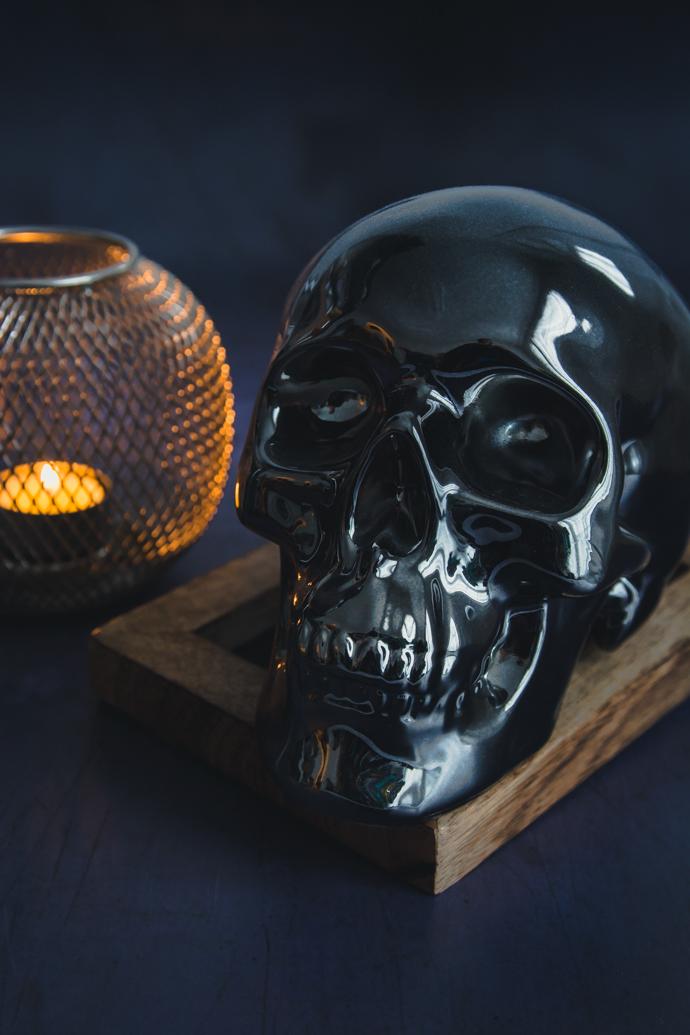Crâne Halloween - Jura Whisky