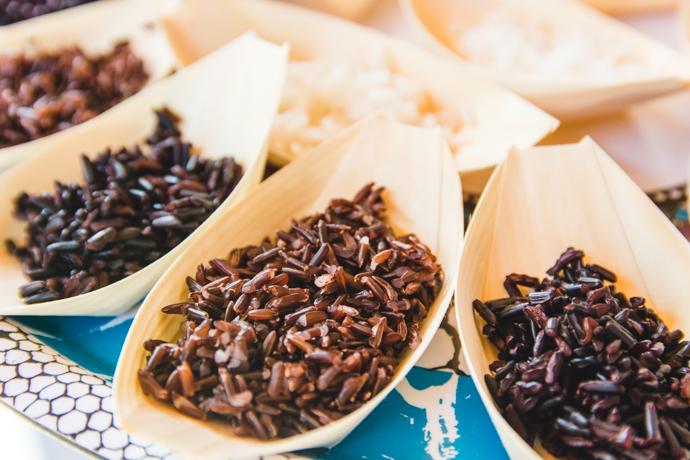 Les riz colorés de Camargue ont une haute valeur nutritive : vitamines, fibres, protéines...