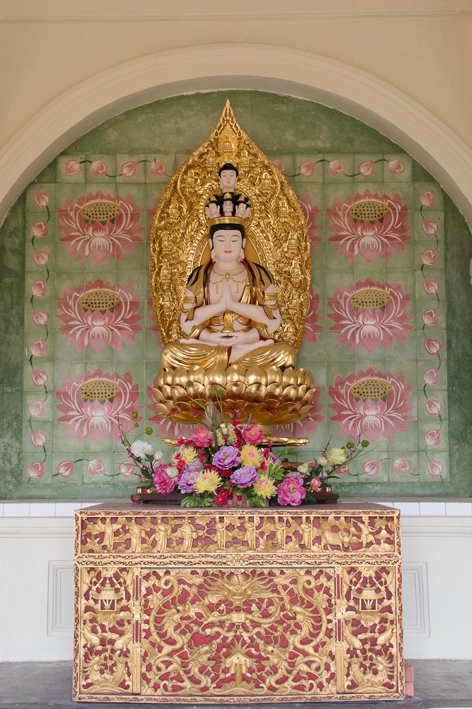 Statue de Boudha, Pagode du Kek Lok Si Temple, Penang, Malaisie