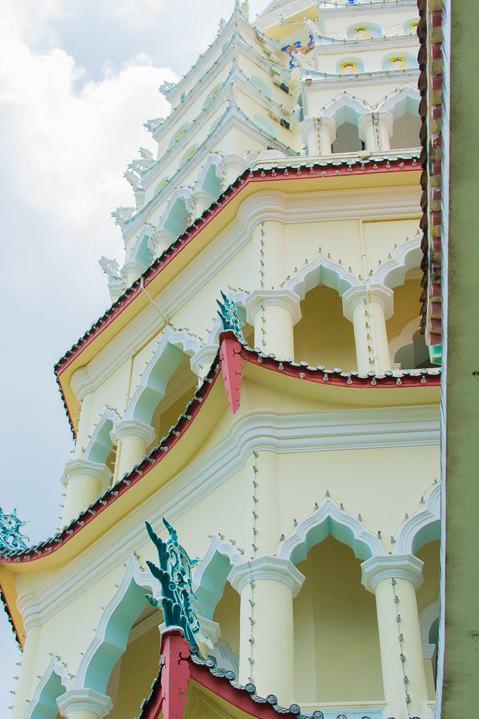Pagode du Kek Lok Si Temple, Penang, Malaisie
