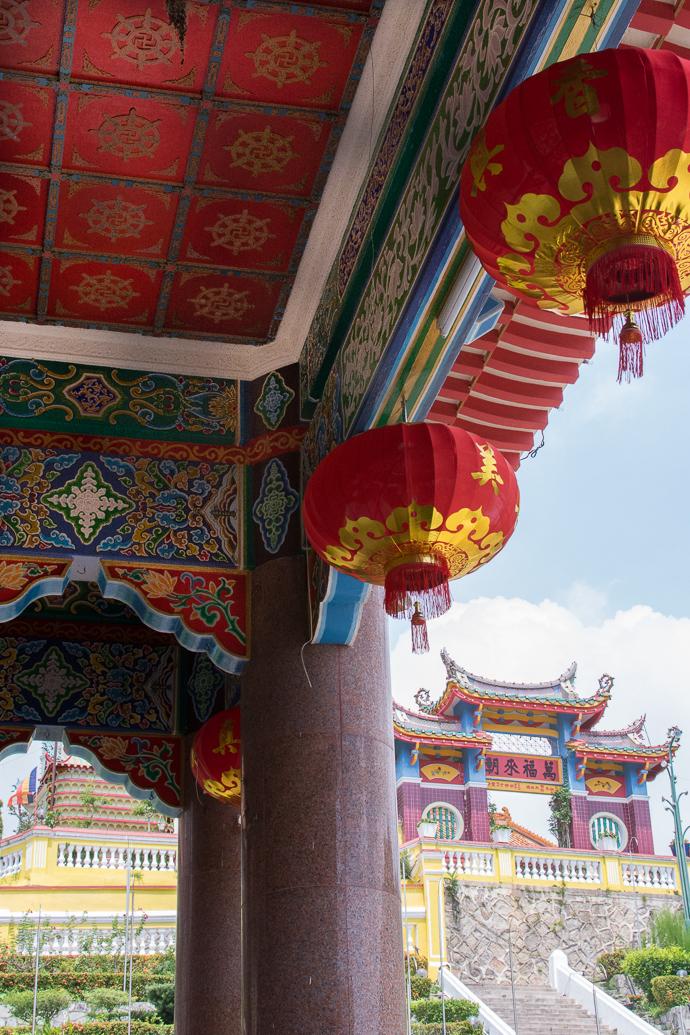 Jour de fête au Kek Lok Si Temple