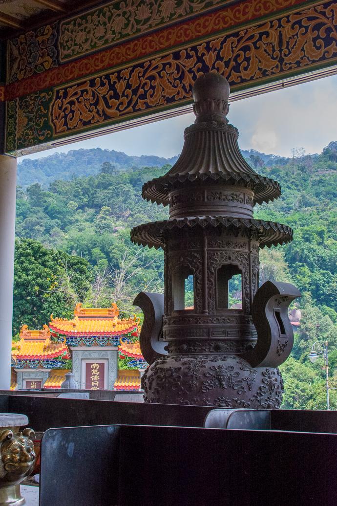 Sculpture au Kek Lok Si Temple