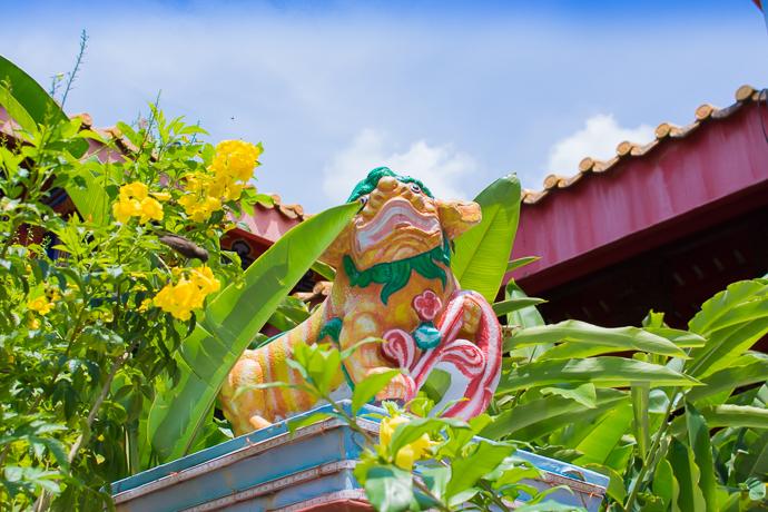 Statue de tigre, Kek Lok Si Temple, Penang, Malaisie