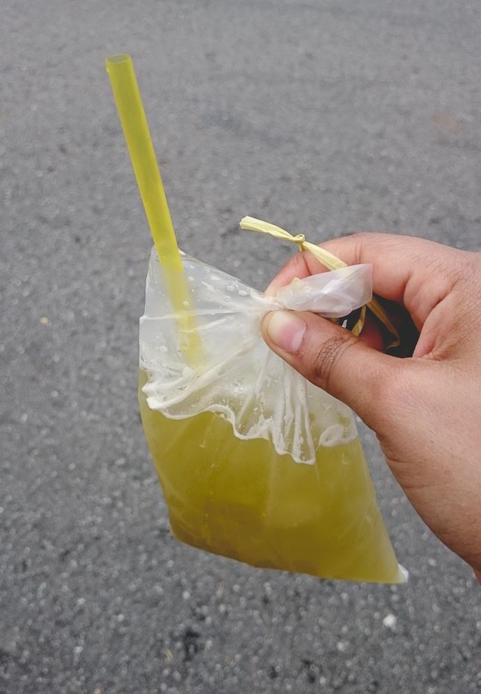 Boisson désaltérante à base de sucre de canne, Kek Lok Si Temple, Penang, Malaisie