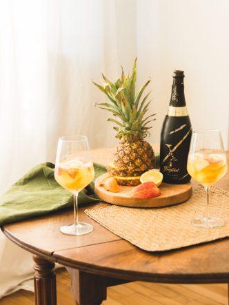 Recette de cocktails en carafe - sangria blanca