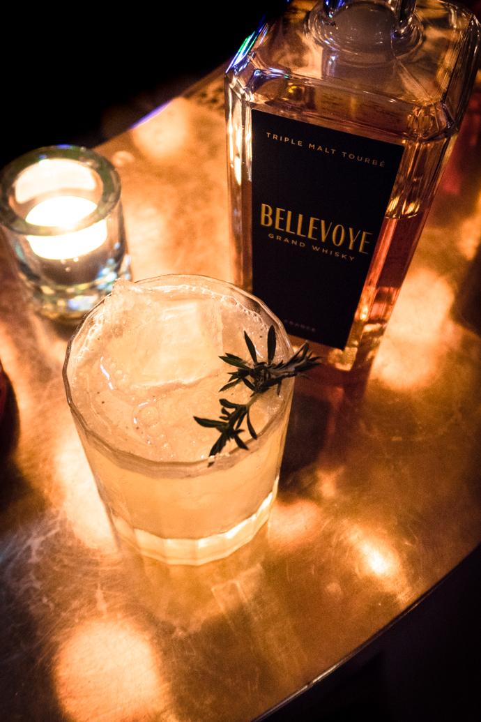 Bellevoye whisky noir - la référence tourbée de la maison Bellevoye