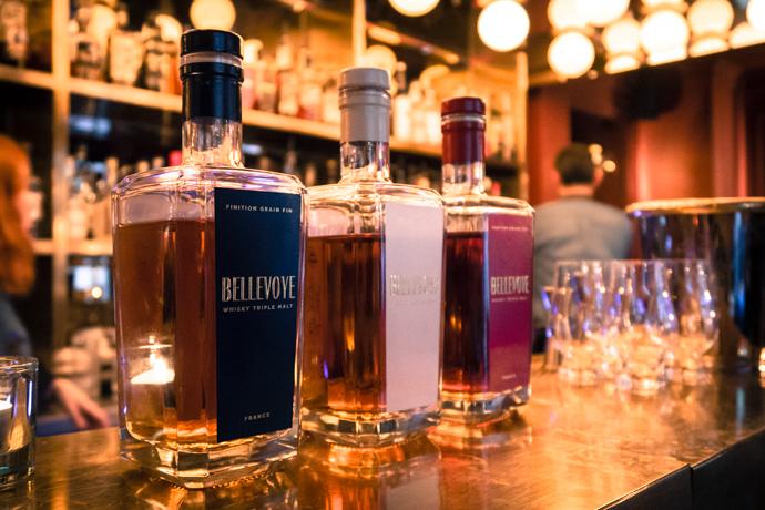 Whisky Bellevoye - une trilogie de whisky avec 3 styles différents