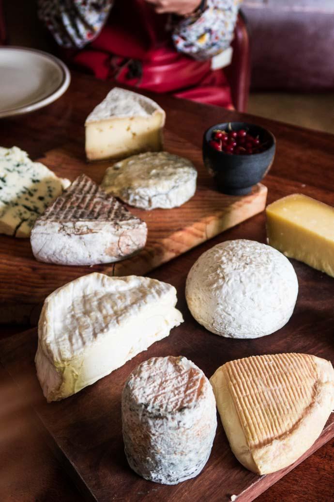 Plateau de fromages régionaux de France - Pourdebon x Malle Trousseau