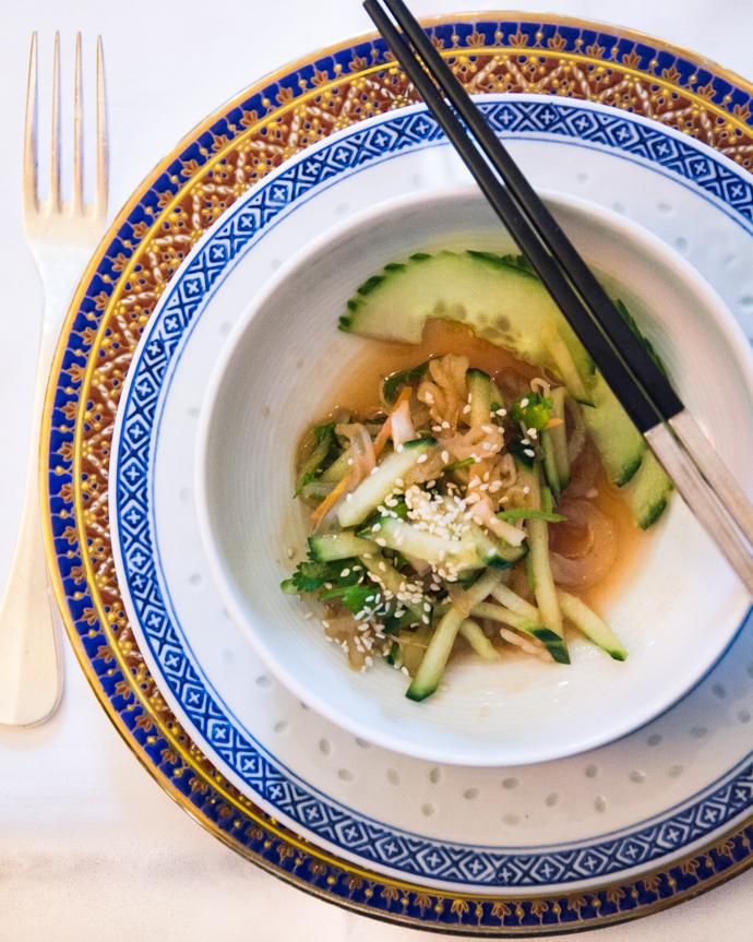 Salade de Méduse - Restaurant Chez Ly à Paris