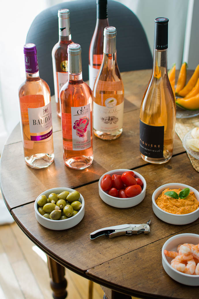 Dégustation de vins rosés d'été 2019