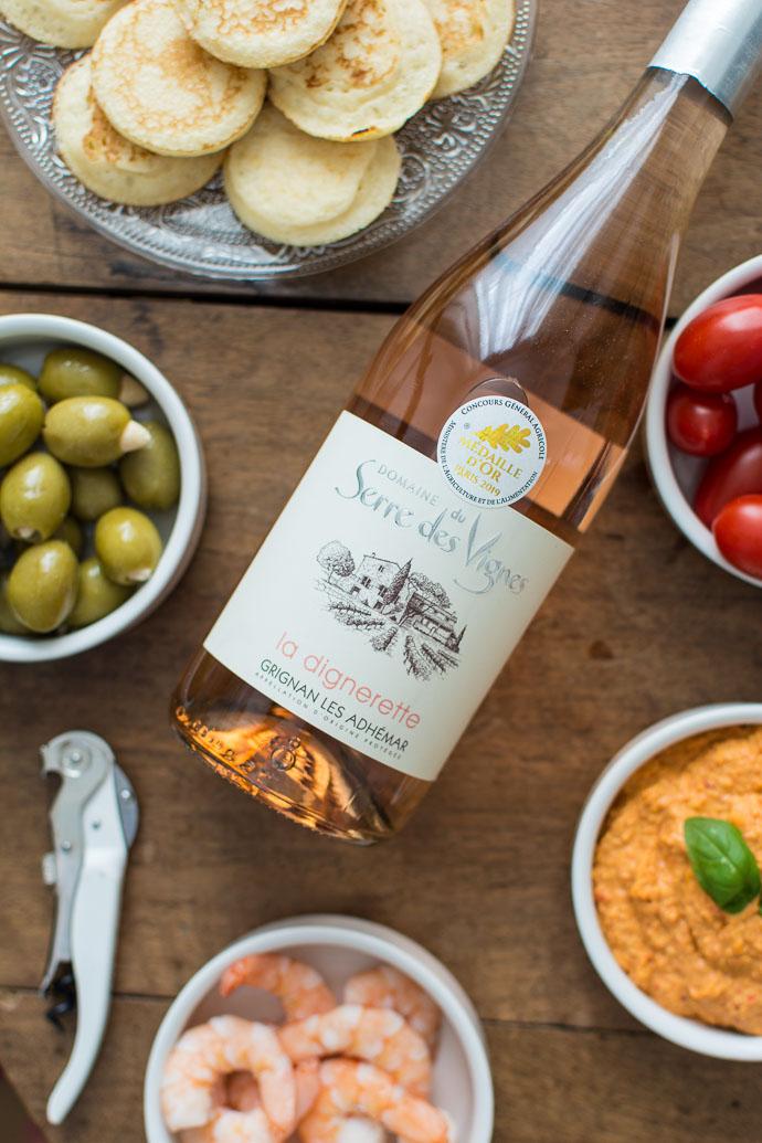 Domaine Serre des Vignes, Grignan-les-Adhémar, Rosé 2018