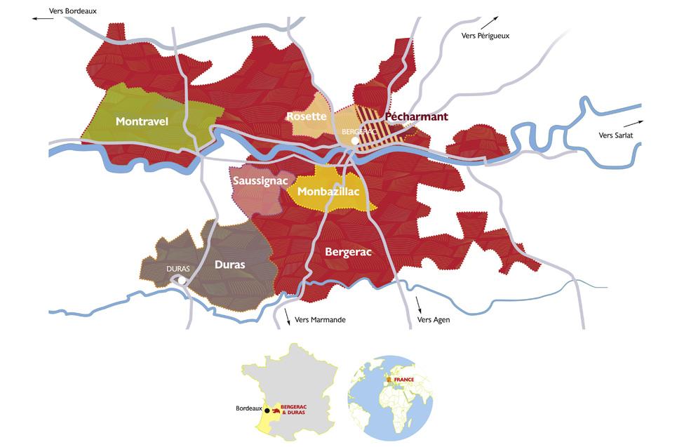 Vignobles & terroirs de Bergerac Duras