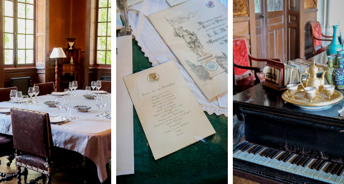 Invitation pour les dîners au Château de Montaigne