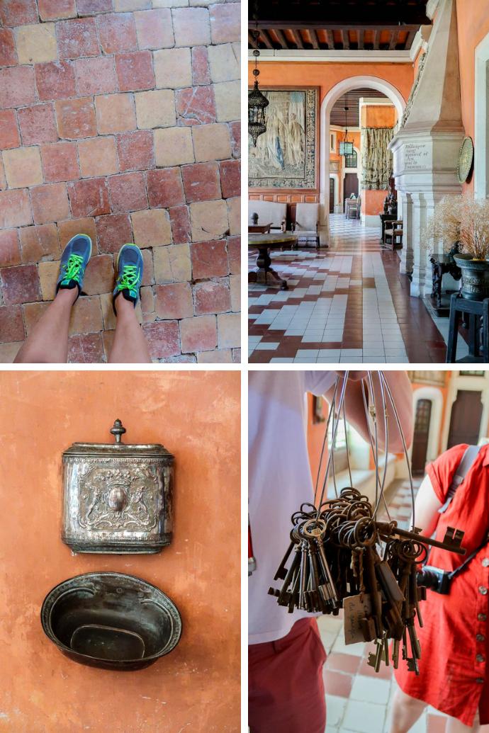 Château de Montaigne, visite des chambres et des pièces de réception