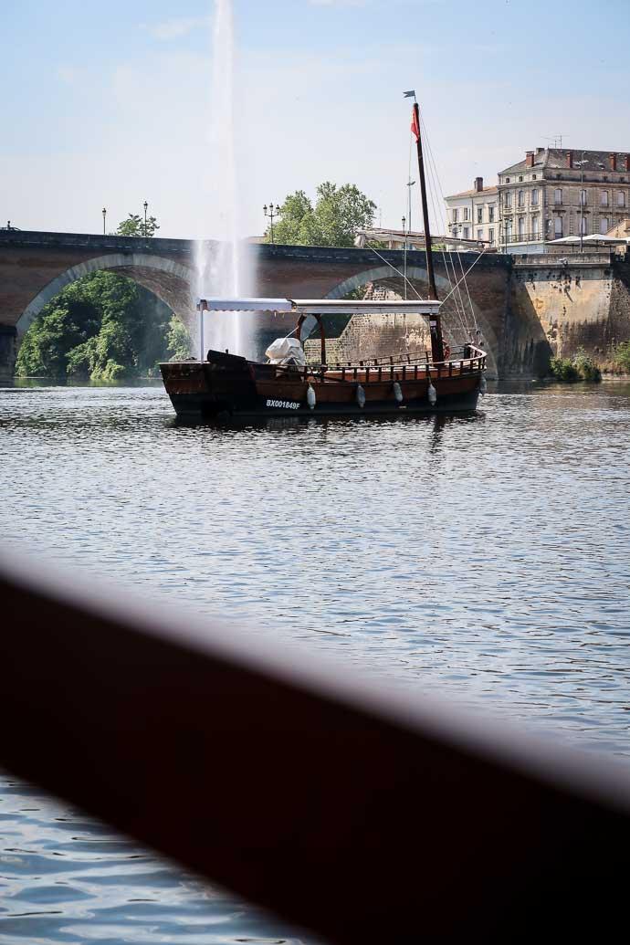 Ballade en gabarre sur la Dordogne - Bergerac