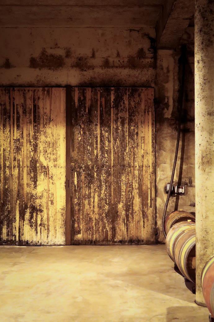 Porte de la cave des Verdots