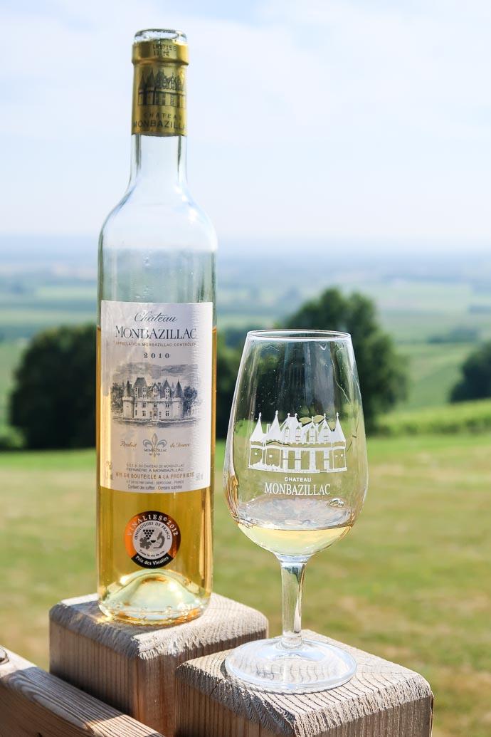 Château Monbazillac - vin liquoreux de Bergerac