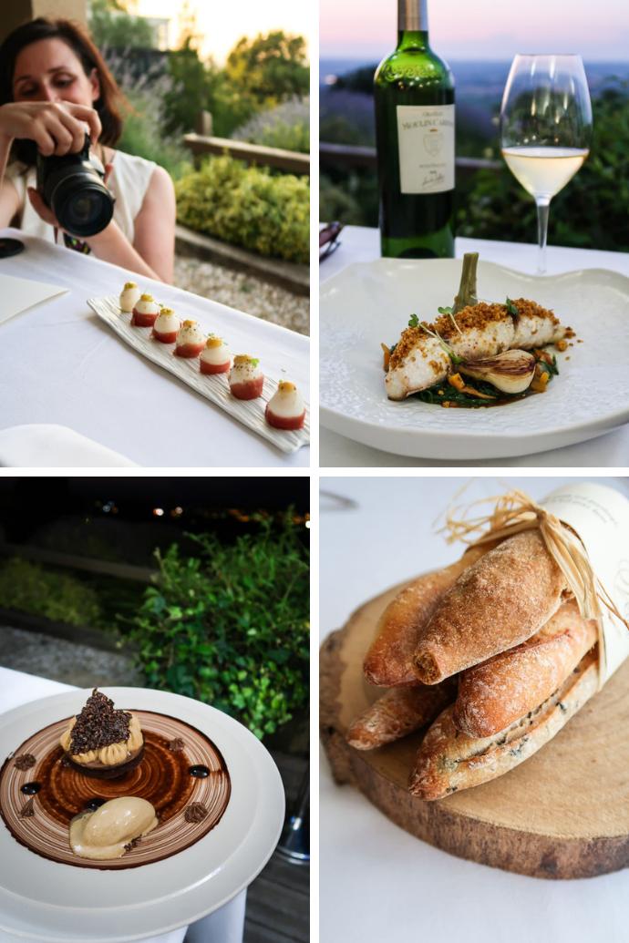 Menu dégustation - Restaurant Gastronomique Tour des Vents - Monbazillac