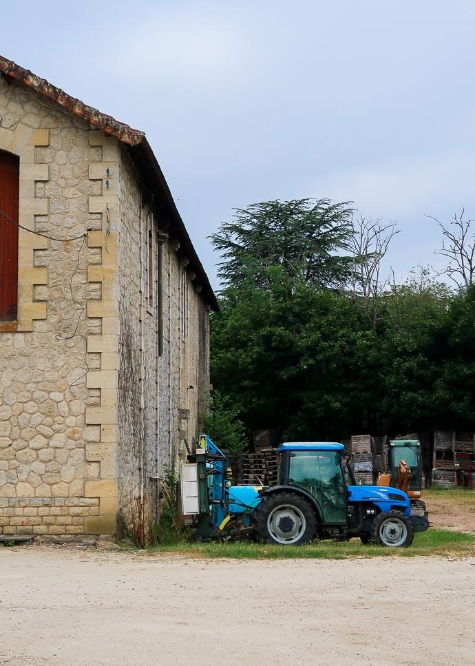 Tracteur à la campagne - Bergerac
