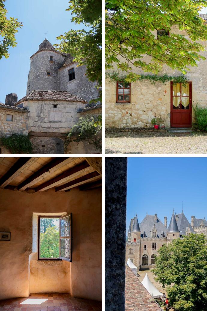 Tour Montaigne au Château de Montaigne - visite