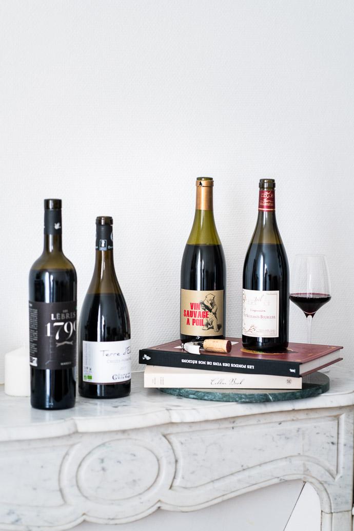 Sélection de vins rouge pour fêter la rentrée
