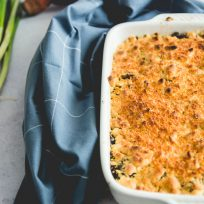 Réalisez un crumble de légumes, patates & noix, facilement et rapidement !