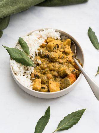 Curry de légumes d'hiver crémeux - recette végétarienne