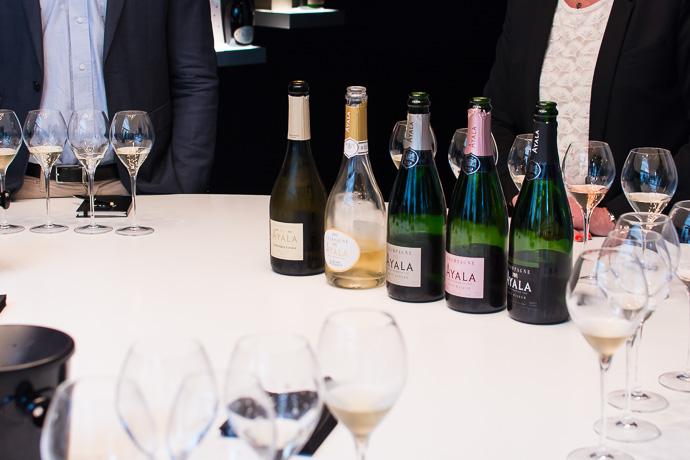 Découverte des Champagne Ayala : Brut Nature, Brut et Rosé Majeur, Blanc de blancs, Perle d'Ayala