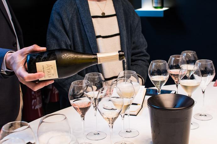 Dégustation chez Champagne Ayala